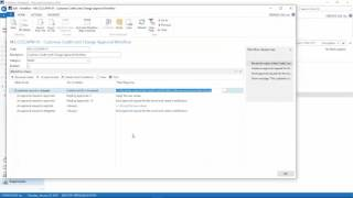 How to use Workflow in Dynamics NAV in a little over 2 minutes