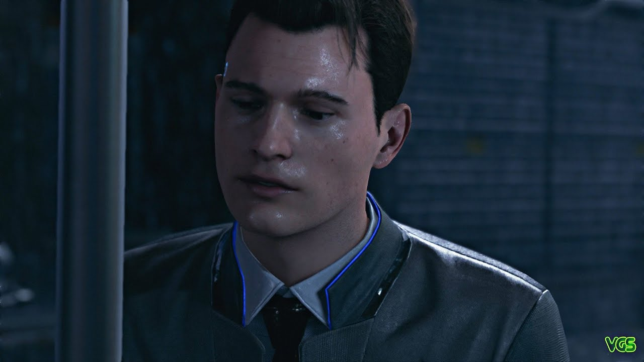 Detroit: Become Human - Connor is......bad at Small Talk ...