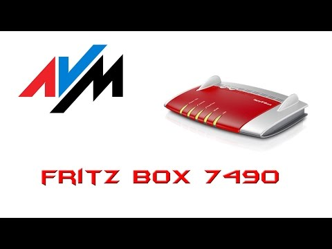 MEGA WYPASIONY Router Fritz!Box 7490 od AVM