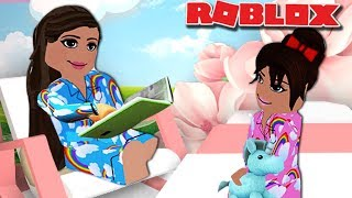 Mom and Daughter Routine | Roblox Roleplay | Bloxburg