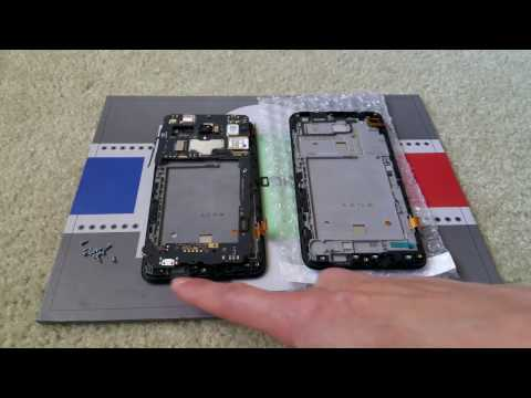 How To Install New Alcatel One Touch Flint Fierce XL LCD Glass Digitizer Front Panel Complete 2017
