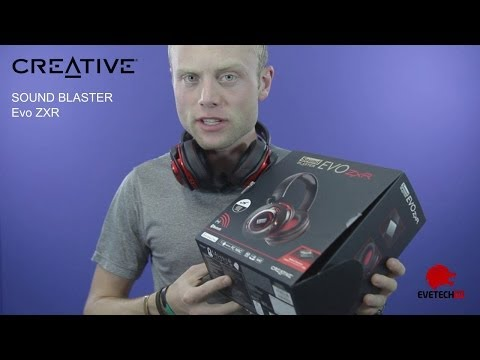 Creative Sound Blaster EVO ZxR Headset - Best Gaming Headset in the market