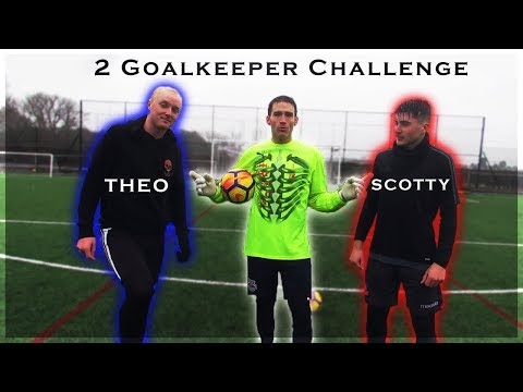 2 Goalkeeper Challenge with Theo Baker & Scotty P!