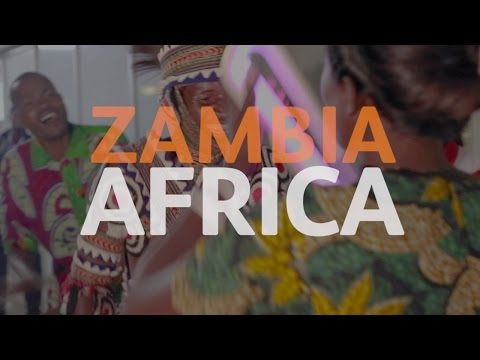 The Queen's Baton visits Zambia