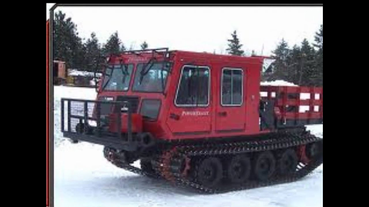 Tracks For Vehicles >> Bombardier all terrain tracked vehicles - YouTube