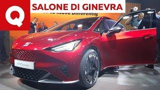 Seat El-Born: un po' Altea, un po' elettrica - Salone di Ginevra 2019 | Quattroruote