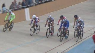 2014-Cyclisme.Piste-MONTARGIS.Trophée.Champions-ELIMINATIONS.Min+Sen&Jun-29aout