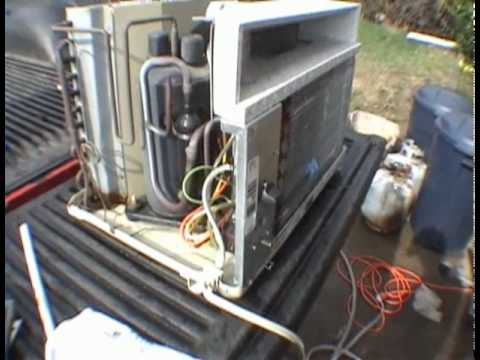 Wiring Diagram For Rv Inverter Roper 5000 Btu Window Air Conditioner Youtube