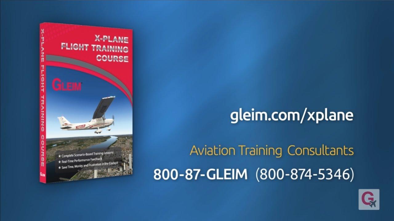 Gleim X-Plane Flight Training Course