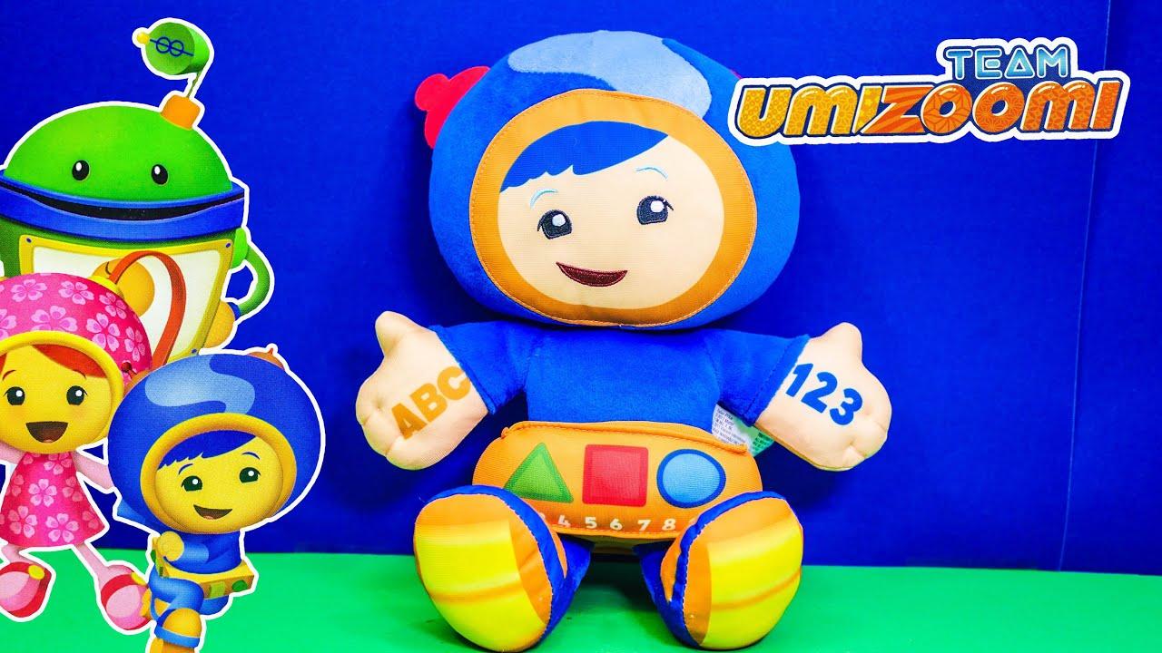 Team Umizoomi Talking Geo Mathmatical Plush A Toy Unboxing