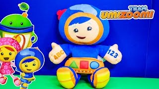 TEAM UMIZOOMI Nickelodeon Team Umizoomi Geo Mathmatical Plush Team Umizoomi Vido Touy Review