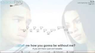Jordin Sparks feat. Chris Brown - No Air - karaoke