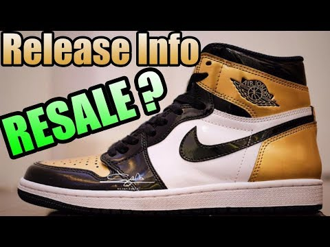 Jordan 1 EQUALITY Release Info ! |  RESALE VALUE On The GOLD TOE Jordan 1s ?