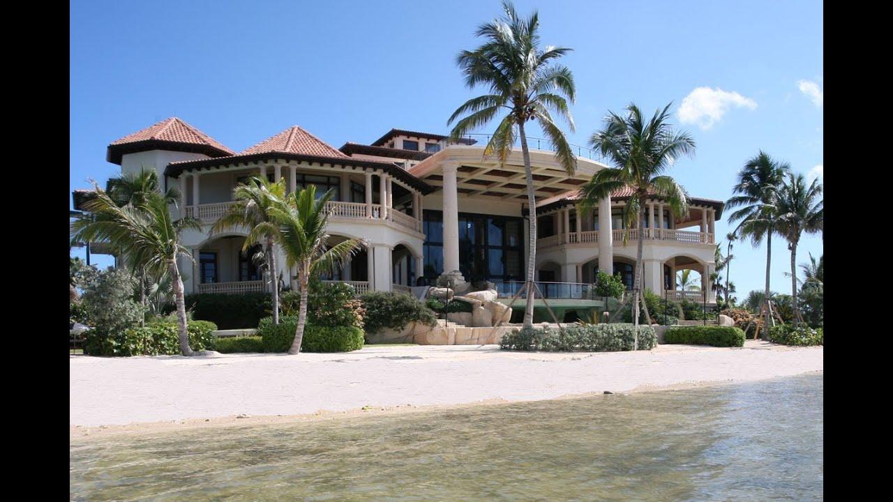 Houses On Cayman Island Beaches