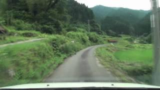 鳥取県道311号 坂井原側(撤退)