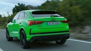 Audi RS Q3 Sportback (2020) - Выгодный звук и вождение (400 л. С. Внедорожник)