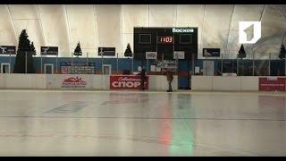 Утренний эфир / Учимся кататься на коньках