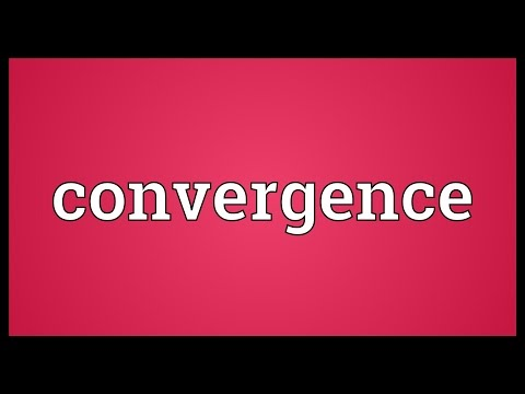 Convergence Meaning