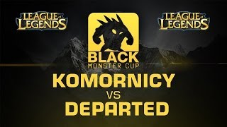 komornicy vs. Departed - Grand Final Map 2 - BMC EU Spring Qualifier PL - League of Legends