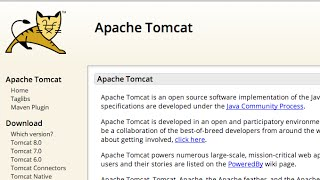 Install and Configure Apache Tomcat Web Server in Eclipse IDE