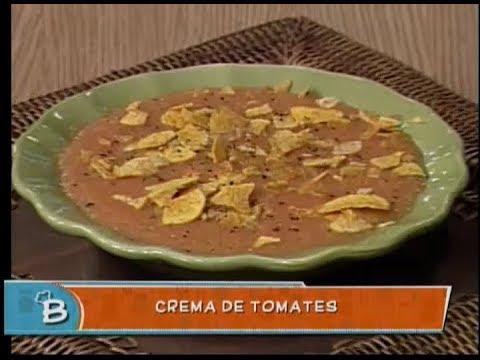 Crema de tomates