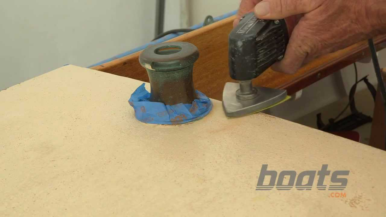 How To Apply Kiwi Grip Nonskid Paint To A Boat Deck Youtube