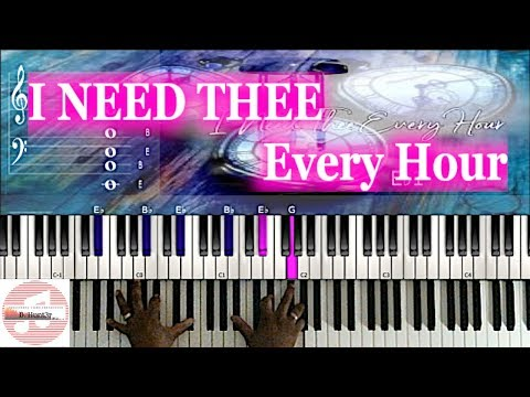 *Easy* I Need Thee Every Hour 🎹 Tutorial thumbnail