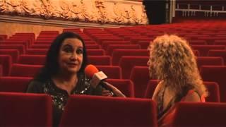 """BARCELONAUTES / SARA LEZANA - BAILAORA BALLET FLAMENCO DE MADRID """"CARMEN"""""""