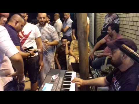 احمد الكودي مع مصطفى الحاجم مع العازف علي كنو حفله بشده في سامراء