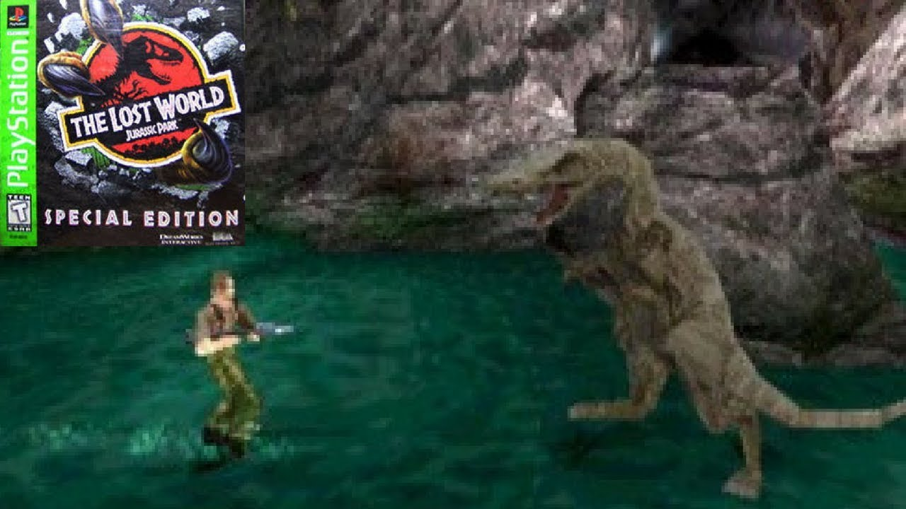 baryonyx attacks enter carefully the lost world jurassic park