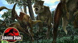 How Rexy Survived On Nublar After Jurassic Park - Jurassic Park's Tyrannosaurus