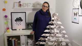 Bohodecochic - Diy Árbol De Navidad De Madera / Tree Wood Christmas Diy