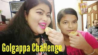 food challe...golgappa eating challenge