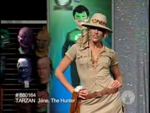 Halloween Costumes Hunter Jane Tarzan Costume  sc 1 st  YouTube & Halloween Costumes Hunter Jane Tarzan Costume - YouTube