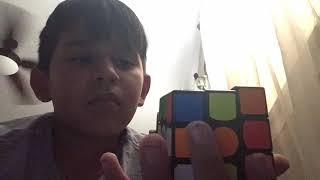 Rubik's cube stop motion