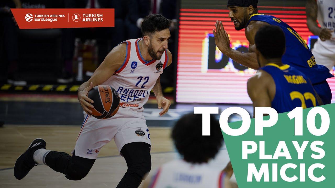 Top 10 Plays Vasilije Micic, All-EuroLeague First Team