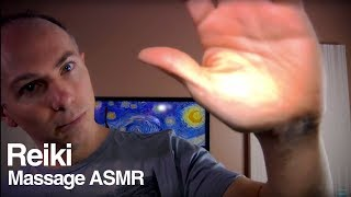 Reiki Remote Relaxation Session ASMR Role Play - Hand Movements