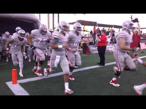 UNLV REBELS FOOTBALL PREGAME HAWAII 2013