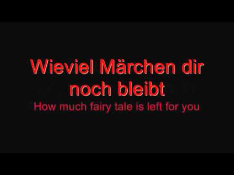 Rammstein - Alter Mann (Demo) lyrics and English translation