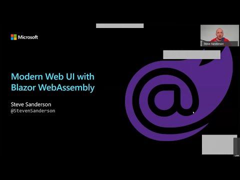 Modern Web UI with Blazor WebAssembly - Steve Sanderson - NDC Oslo 2020