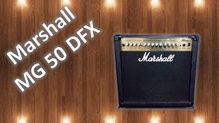 AlmaGuitars - Marshall MG50 DFX