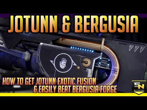 Destiny 2 | How to get Jotunn Exotic Fusion & Easily Beat Bergusia Forge Boss. thumbnail