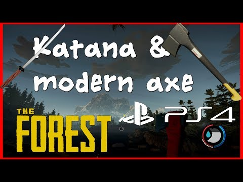 The forest PS4 | Katana and Modern Axe | ep2