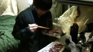 らく寿司の美味しい料理が 宴を盛り上げます.