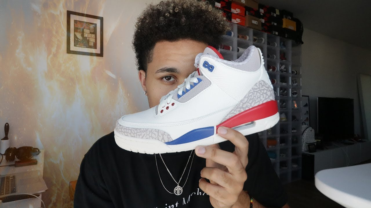c25b5f22305f23 Air Jordan 3 International Flight First Thoughts!! - YouTube