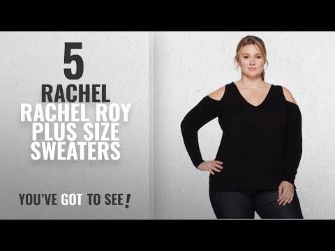 Rachel Rachel Roy Plus Size Sweaters [2018]: RACHEL Rachel Roy Women's Plus Size Cold Shoulder