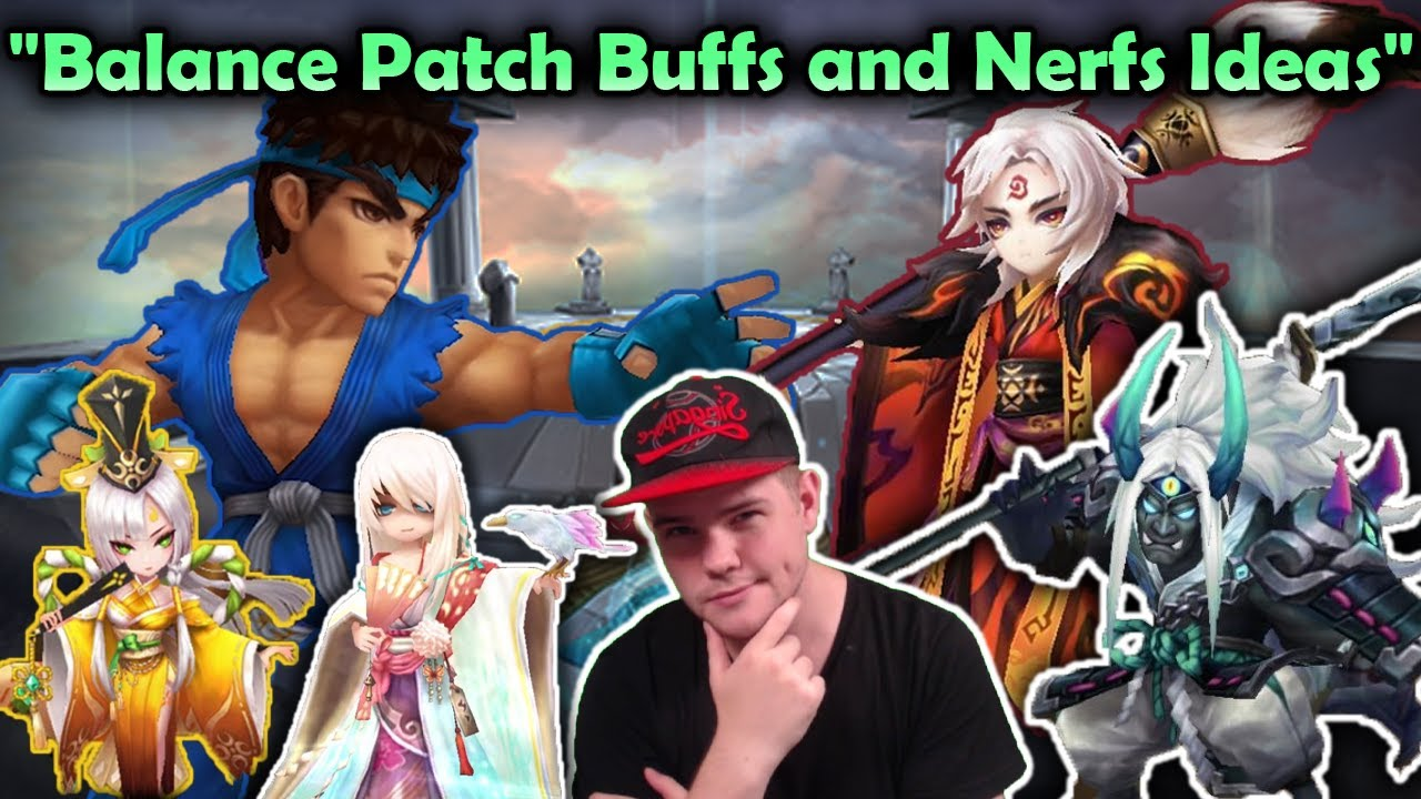 Upcoming Balance Patch Buff and Nerf Ideas! - Summoners War