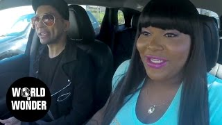 LEMME PICK YOU UP: Bianca Del Rio part 1 with Ts Madison
