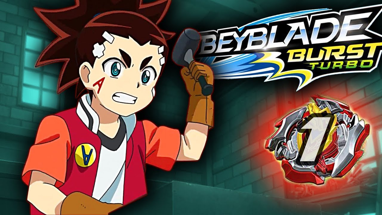 Beyblade burst turbo épisode 1 fabriquer sa toupie revue discussion