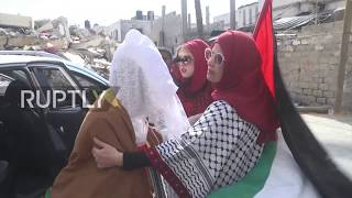 State of Palestine: Wedding held in Gaza after bride's home destroyed in Israeli attack